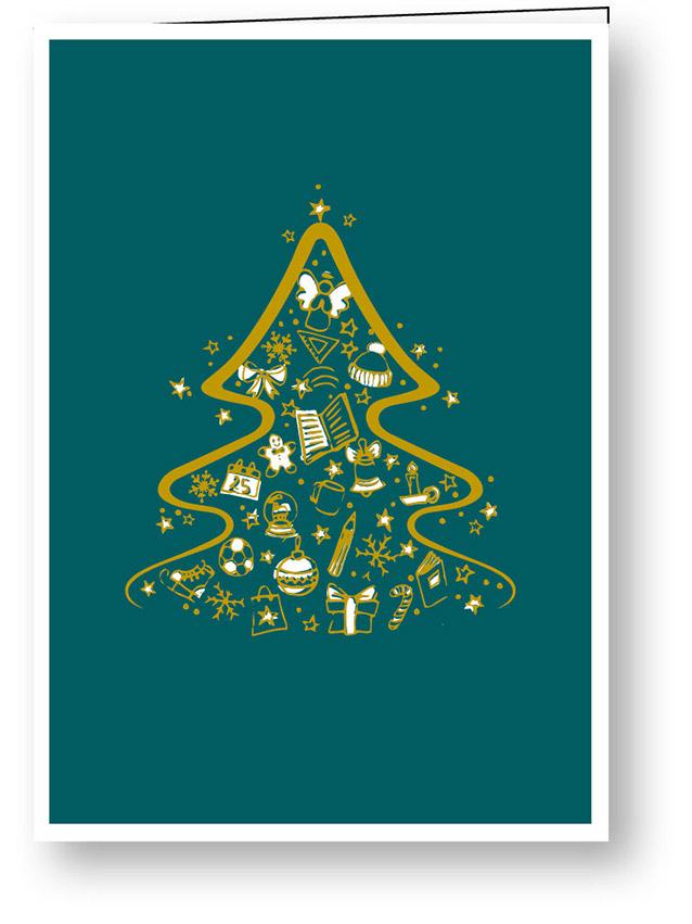 weihnachtskarte_goldene_weihnachten_baum_stiftung_kinderdorf_pestalozzi