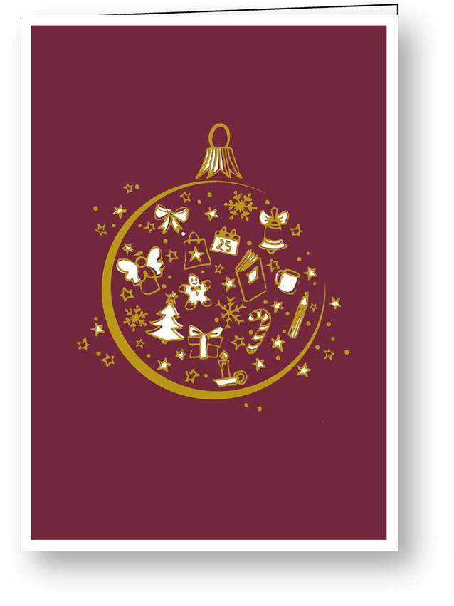 weihnachtskarte_goldene_weihnachten_kugel_stiftung_kinderdorf_pestalozzi